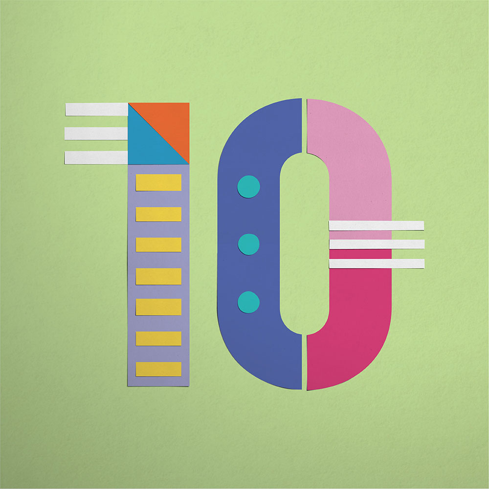 18 Graphic Designers for Our 10-year Anniversary