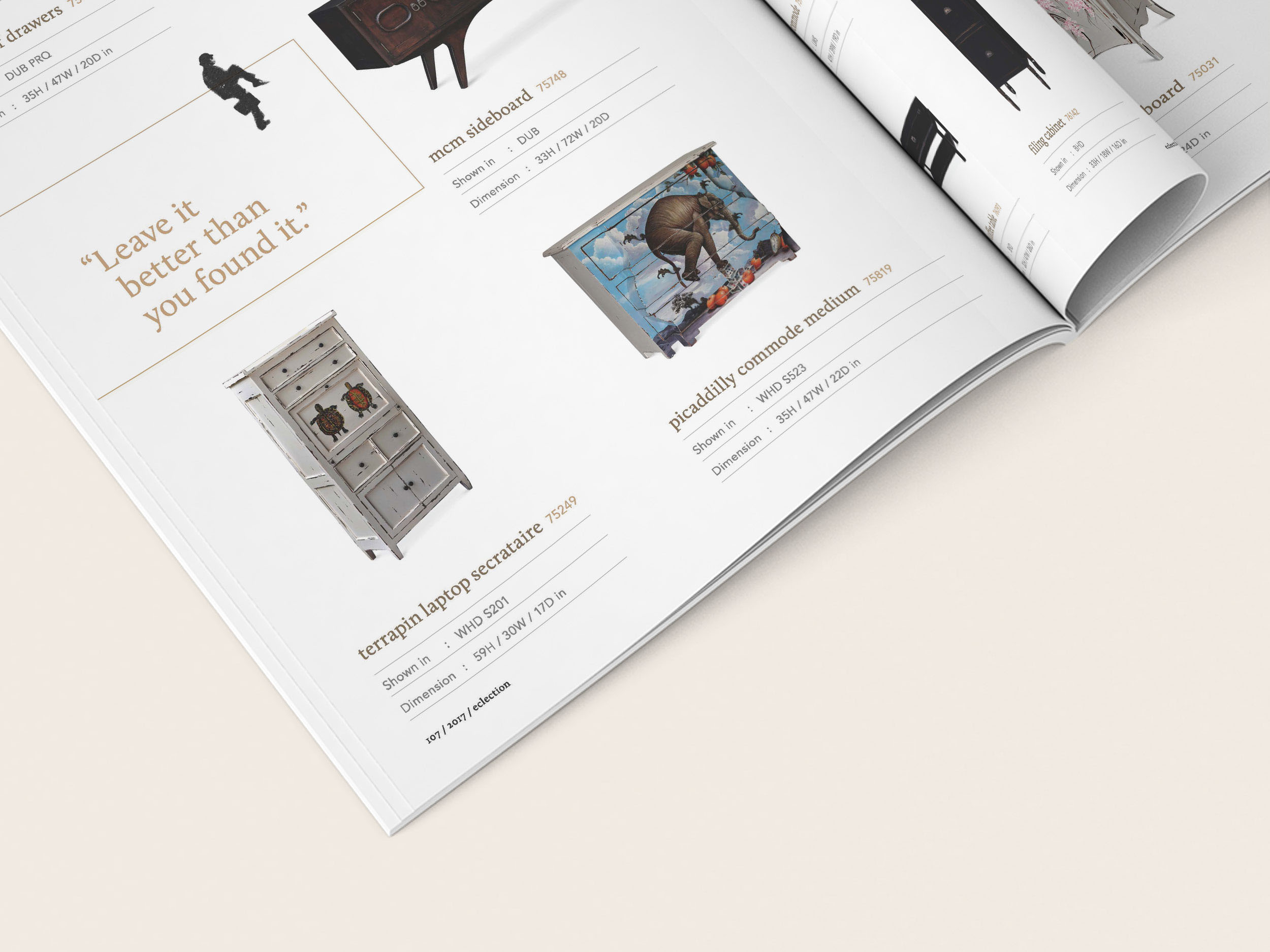 6 catalogue design insight - get personal
