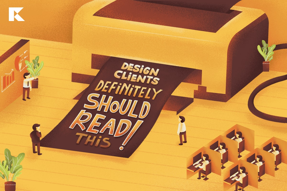 Design clients definitely should read this