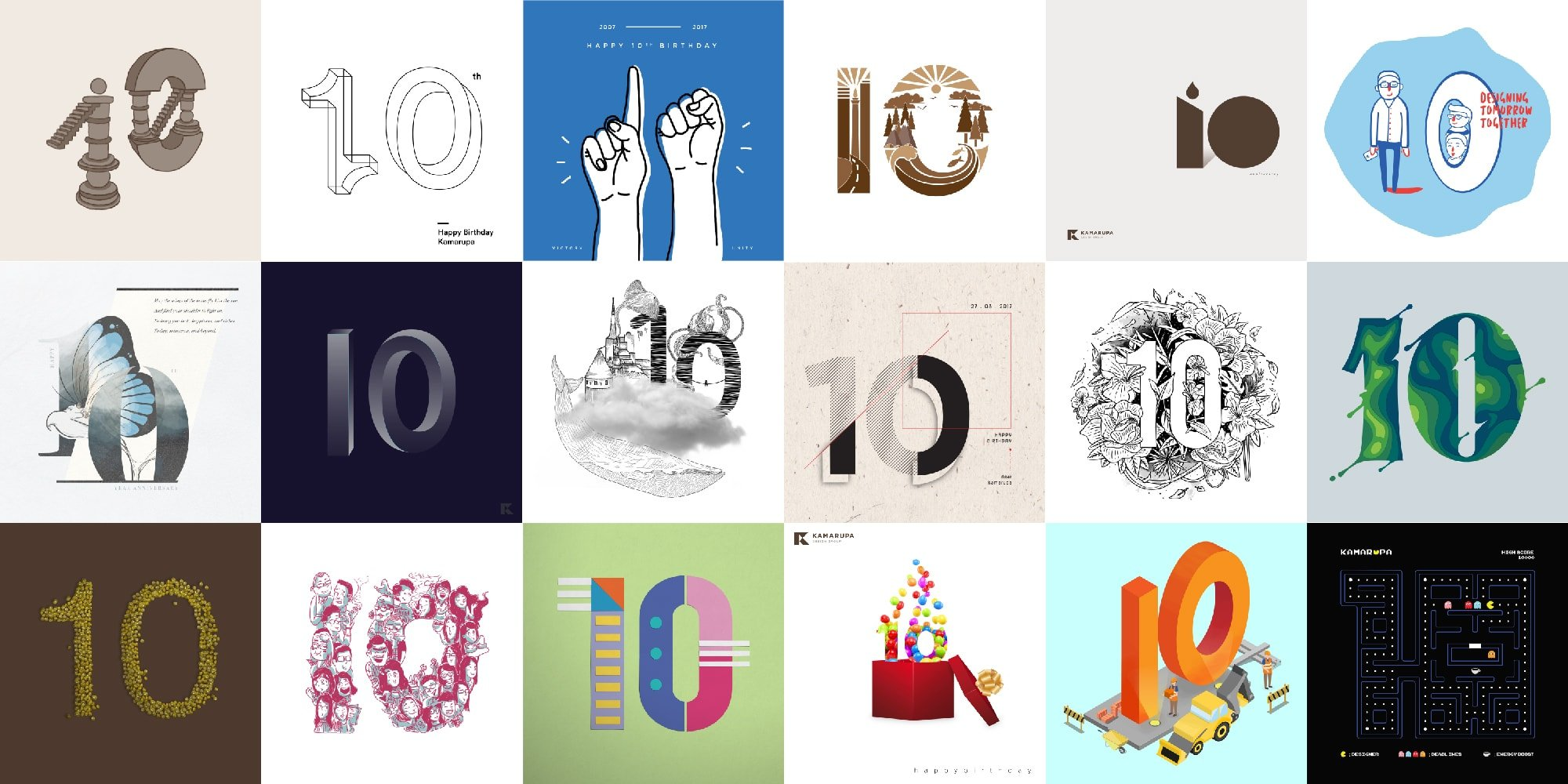 18 Designers Commemorate Our 10-year Anniversary
