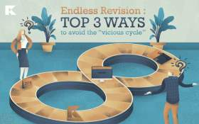 "Endless revision: top 3 ways to avoid the ""vicious cycle"""