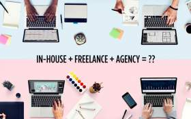 In-house designer, freelancer, or agency? Get the best of all three!