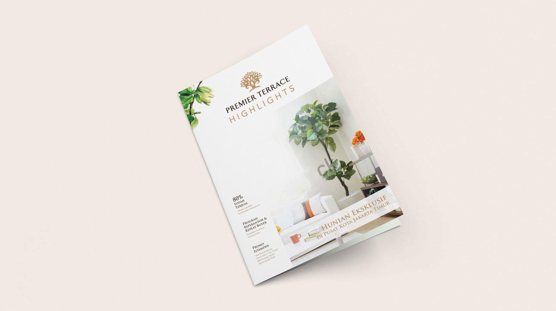 Premier Terrace Brochure Design Projects Kamarupa