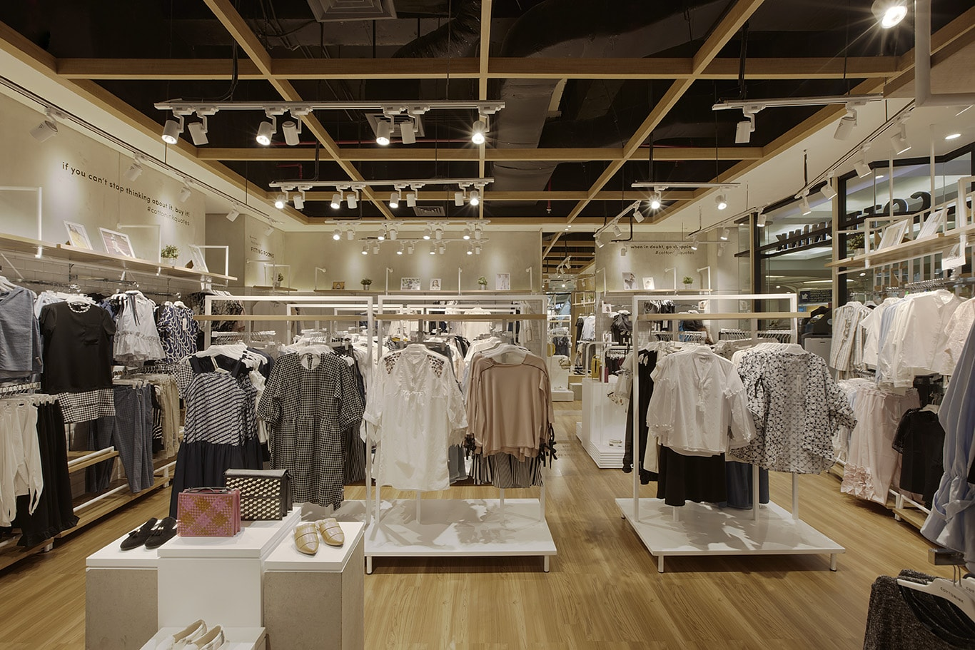 Clothing store design